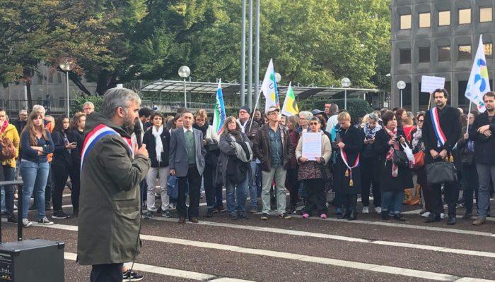 Rassemblements à Bobigny