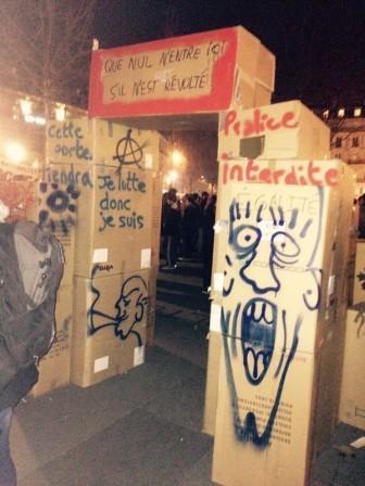 Tous à la « Nuit Debout » Place de la République à Paris