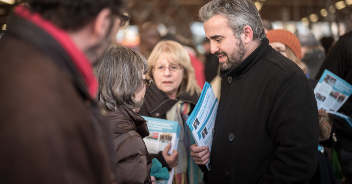 Tractages sur les marchés de Montreuil et Bagnolet