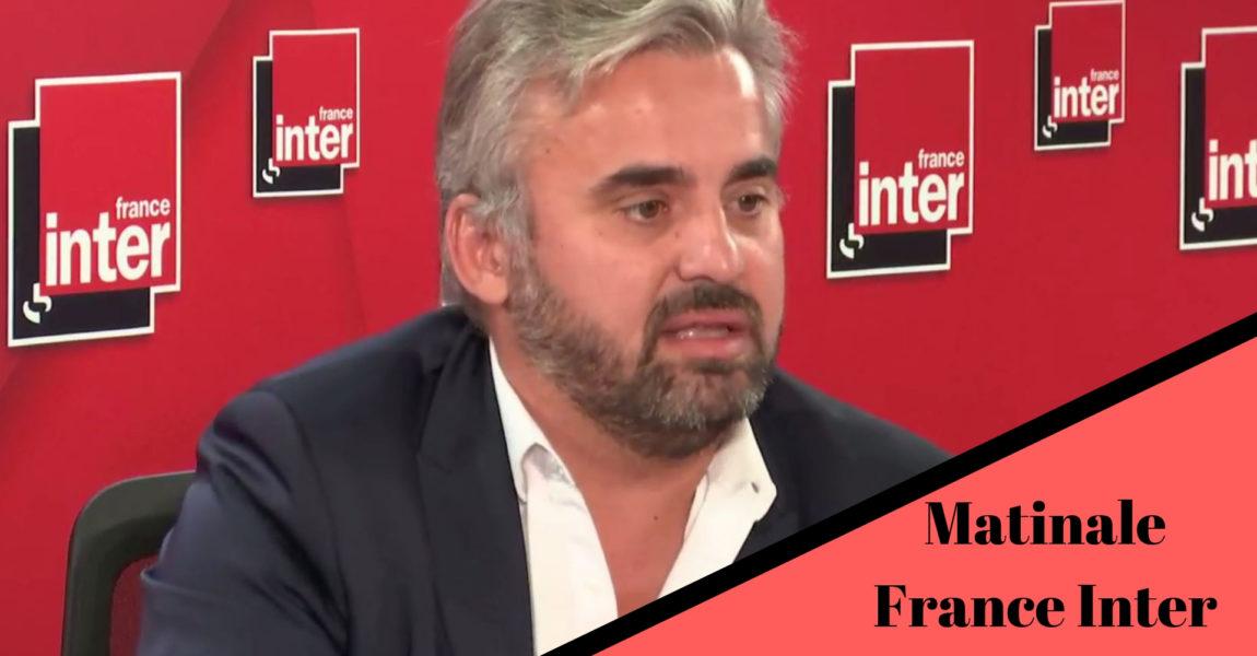 Alexis Corbière, invité de Léa Salamé sur la Matinale de France Inter