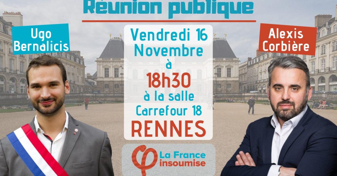 Annonce Déplacement : Rennes, le 16 Novembre 2018