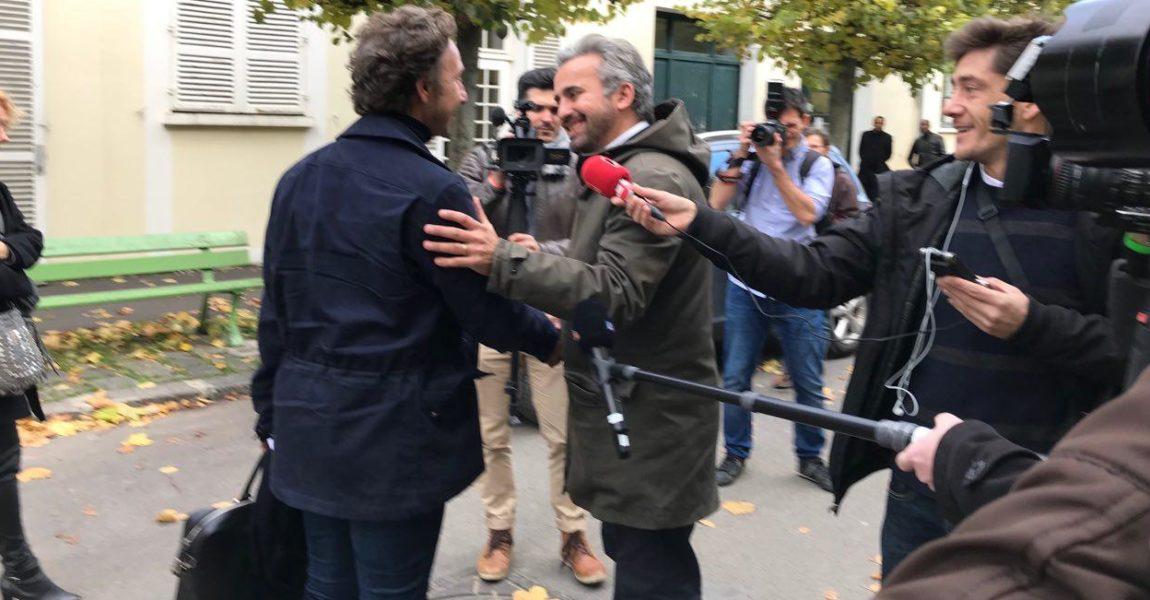 Montreuil : Accueil de Stéphane Bern au Musées de l'Histoire Vivante