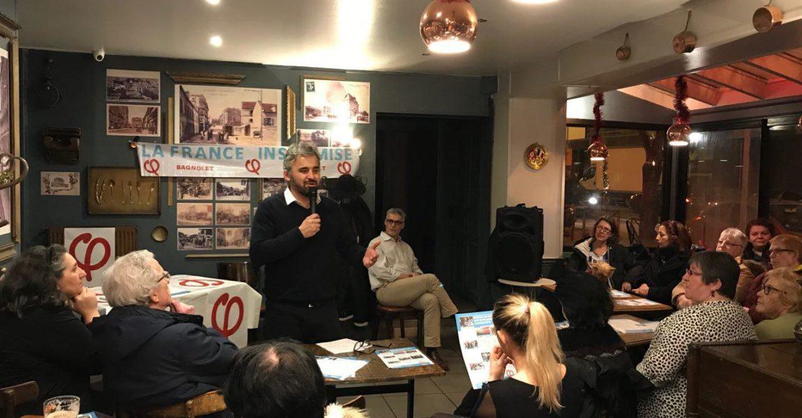 Bagnolet : Vœux du député Alexis Corbière