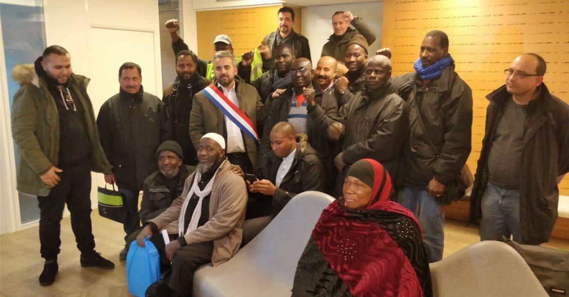 Montreuil : soutien aux salariés grévistes d'ONET