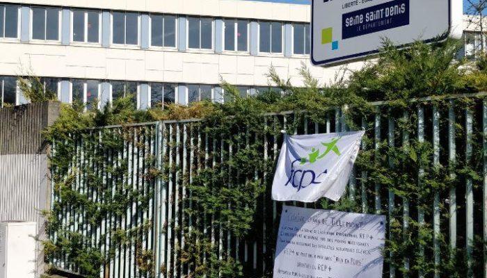 Montreuil : soutien aux enseignants du collège Lenain Tillemont
