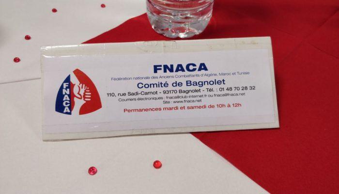 Bagnolet : Repas dansant de la FNACA