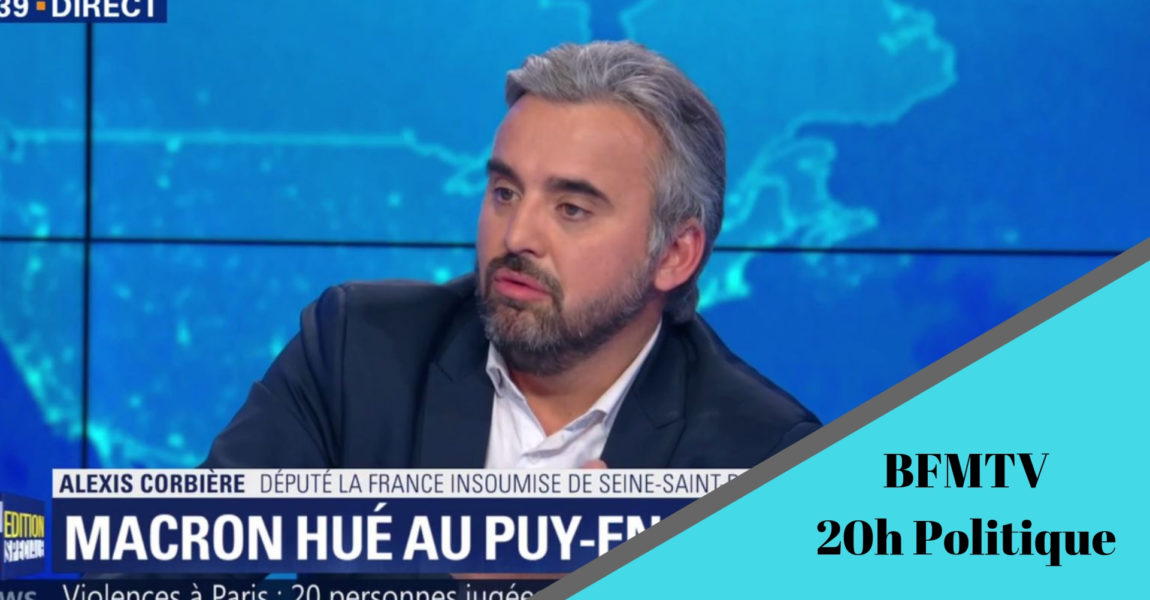 BFMTV 20h Politique – spécial Gilets Jaunes