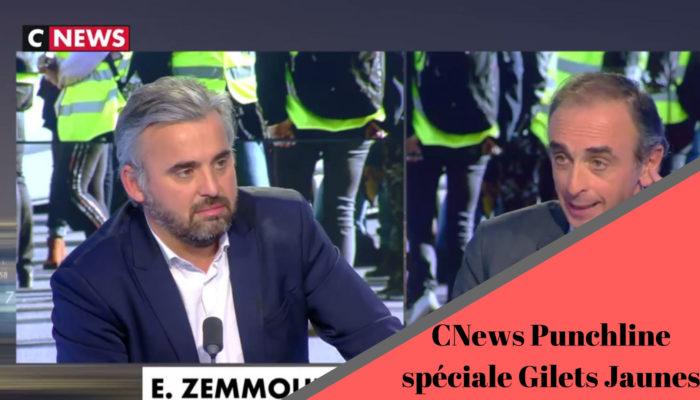 Punchline, Alexis Corbière en débat face à Eric Zemmour sur CNews