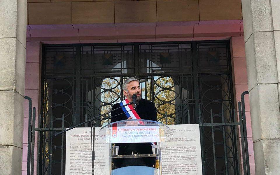 Montreuil : Commémoration de la libération de la ville