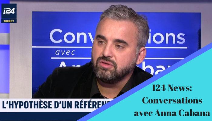 «Conversations avec Anna Cabana» sur I24News