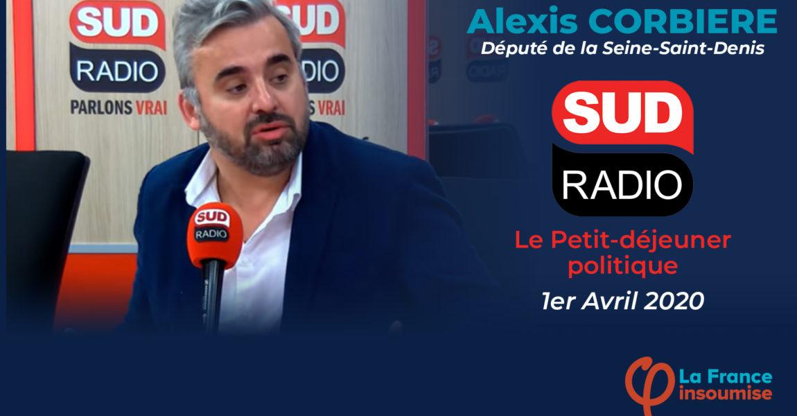 Interview Sud Radio
