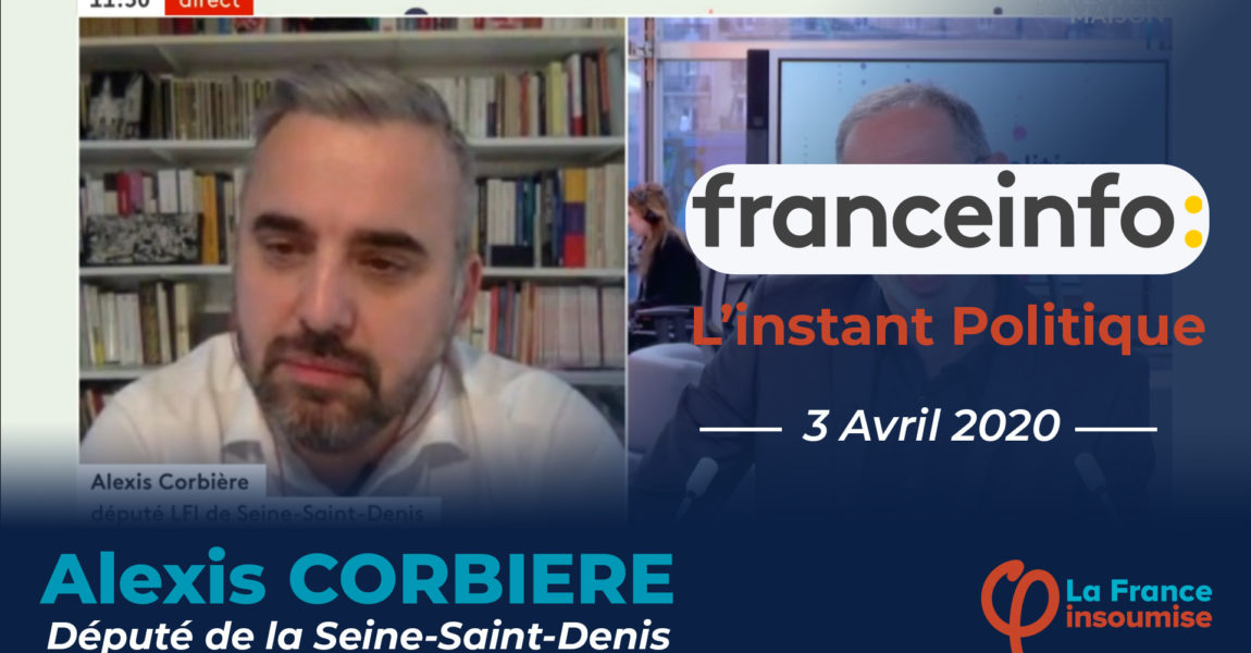 Interview France Info TV