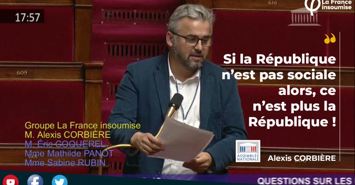 Assemblée Nationale : question sur les mesures sociales urgentes suite à la crise covid 19