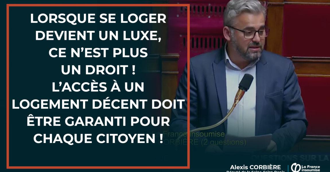Interpellations du Ministre Julien Denormandie sur le logement, en période d'état d'urgence sanitaire