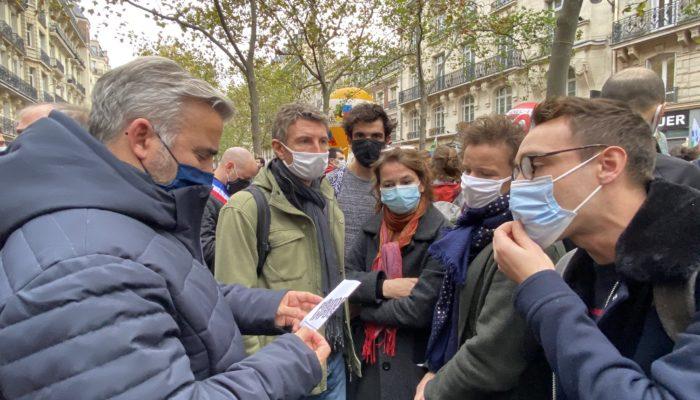 Visite d'Emmanuel Macron à Stains– communiqué de presse